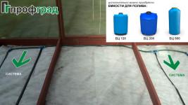 Система капельного полива для теплиц «Профград Аква»